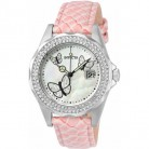Invicta Watch for Women, Leather, Pink and Silver, 23643