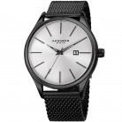 Akribos XXIV Watch for Men, Stainless Steel, Black, AK959